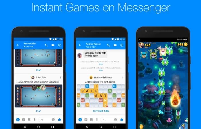 Facebook Messenger. Foto: Facebook