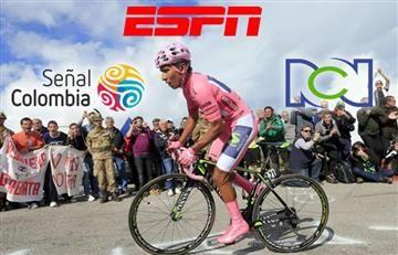 Giro de Italia: Hora y Transmisión En Vivo en Colombia