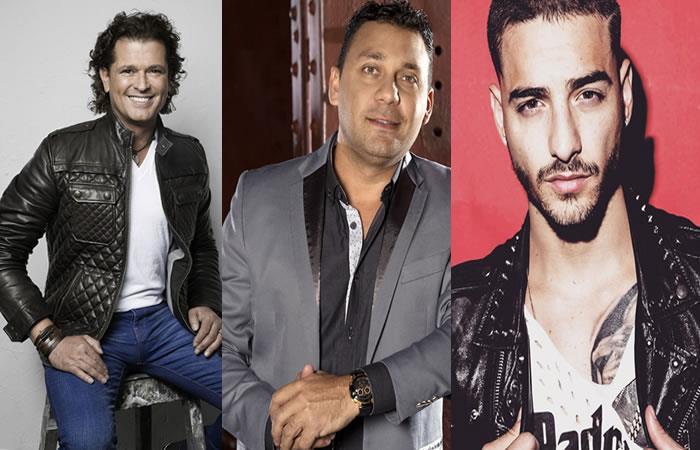 Artistas colombianos que estarán de gira en el exterior