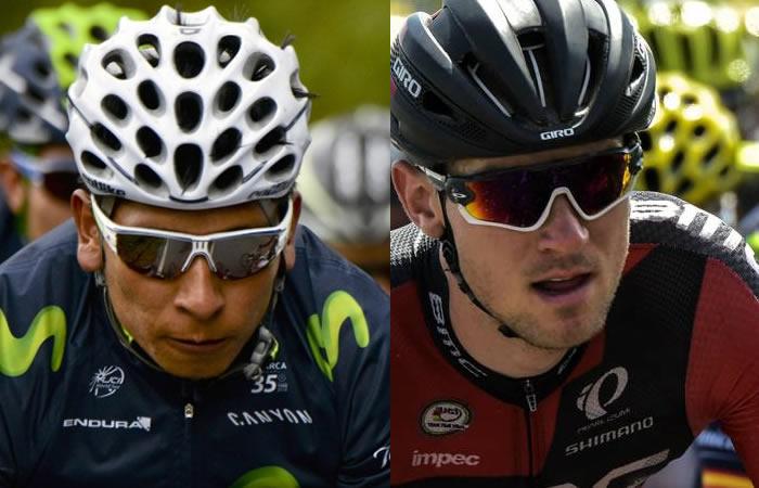 Giro de Italia: Nairo recibe sorprendentes palabras de Van Garderen