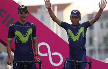 """Nairo Quintana: """"Orgulloso de representar a todos los latinoamericanos"""""""