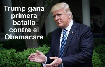 """Trump: El sistema Obamacare """"está muerto"""""""