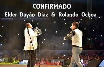 Confirmado nueva unión entre Elder Dayán Díaz y Rolando Ochoa