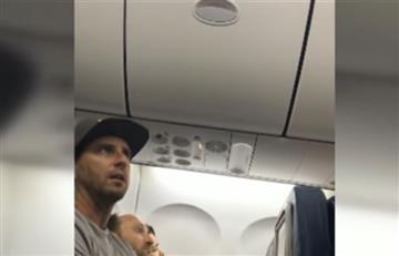 Delta expulsa a una familia por negarse a ceder al asiento de su hijo
