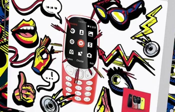 Nokia 3310. Foto:Instagram/Nokia