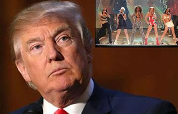 Video: Trump 'desnudó' a una Spice Girls frente a Melania