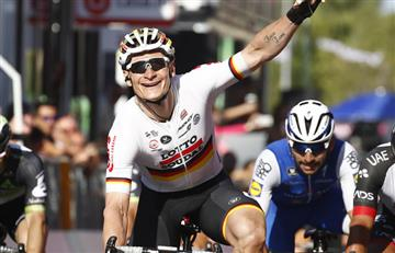 Giro de Italia: André Greipel gana en un final tremendo