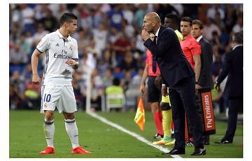 James Rodríguez ridiculiza a Zidane con estos datos
