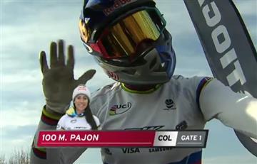 Mariana Pajón no pudo ganar en Copa Mundo de BMX de Holanda