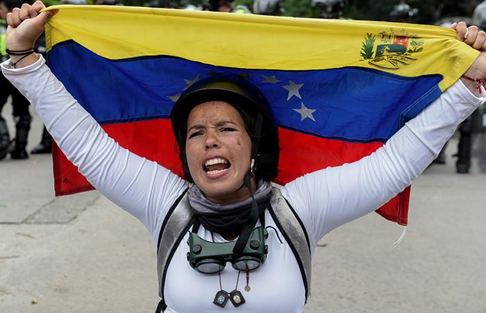 Marchas en Venezuela. Foto: AFP