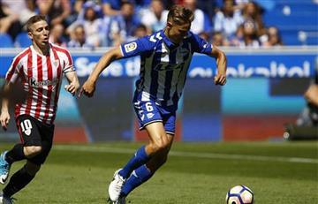 Alavés venció 1-0 al Athletic de Bilbao