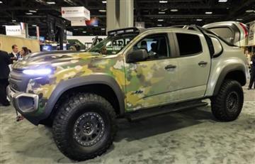 Chevrolet Colorado ZH2 el vehículo militar del futuro
