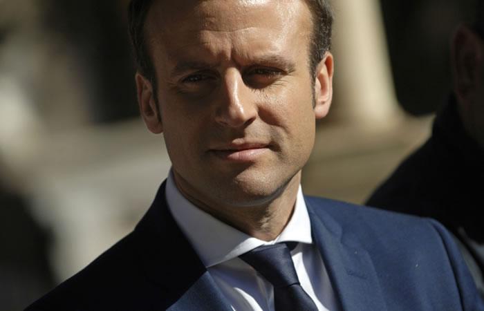 Emmanuel Macron es el nuevo presidente de Francia y el mundo reacciona. Foto: AFP