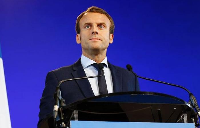 Emmanuel Macron es el nuevo presidente de Francia. Foto: AFP