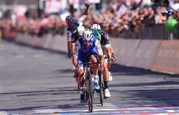 Fernando Gaviria: Reviva el momento en el que el colombiano gana la etapa 3