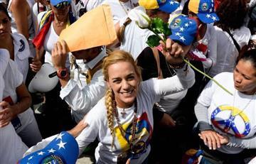 Venezuela: Lilian Tintori logró entrar a la prisión para ver a Leopoldo López