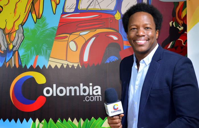 Mauro Castillo en entrevista con Colombia.com. Foto: Interlatin
