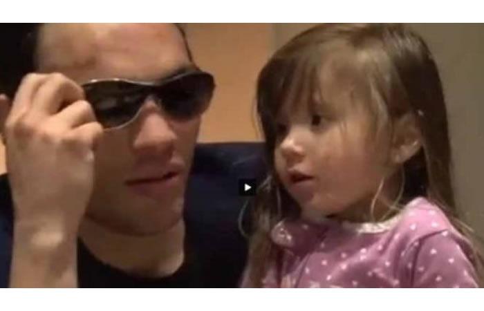 Chávez Jr y el desplante de su pequeña hija que se hace viral