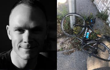 Chris Froome, atropellado mientras entrenaba