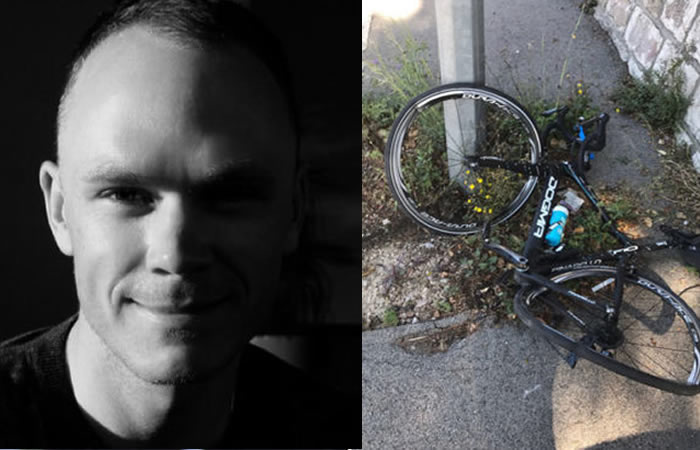 Foto: Twitter Chris Froome