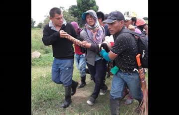 En Cauca un indígena murió en enfrentamientos con la Policía