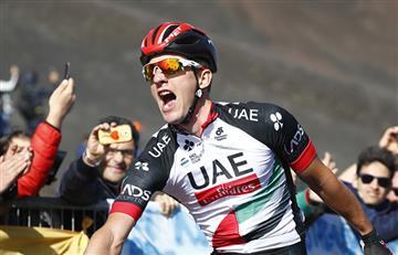 Giro de Italia: Jan Polanc gana la etapa 4