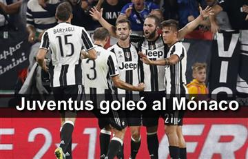 Juventus venció al Mónaco y clasificó a la final de la Champions League