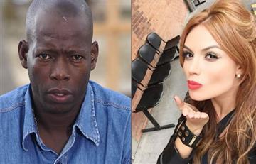 'El tino' Asprilla y Sara Uribe ¿Estarían de romance?