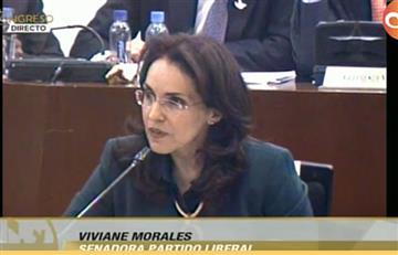 En Vivo: La senadora Viviane Morales defiende su referendo