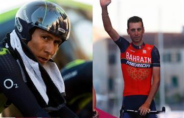 """Nairo Quintana: Las """"sinceras"""" palabras de Nibali contra el de Boyacá"""