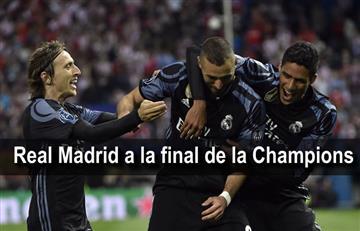 Real Madrid ganó al Atlético y se enfrentará a Juventus en la final de la Champions