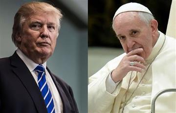 El beso entre el papa Francisco y Donald Trump