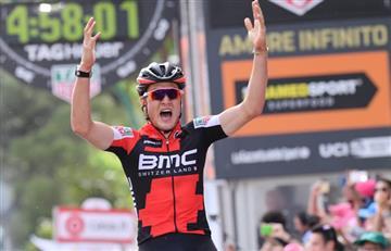 Giro de Italia: Dillier gana la etapa 6.