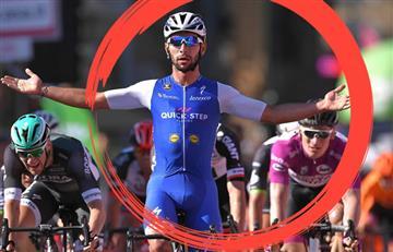 Giro de Italia: El gran gesto humilde de Gaviria con su rival directo