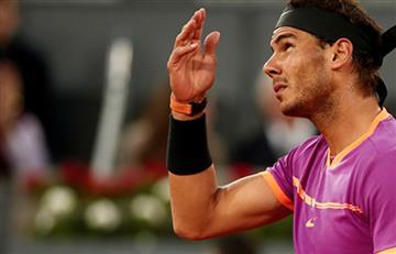 Nadal vence a Kyrgios y Murray, eliminado en Masters 1000 de Madrid