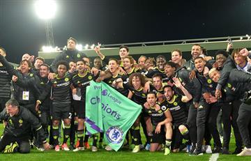 Chelsea es campeón de la Premier League
