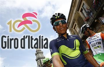 Giro de Italia: Nairo y los colombianos van así tras etapa 7