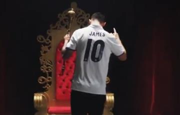 James Rodríguez protagoniza increíble video del Real Madrid