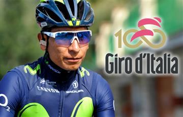 Giro de Italia: Nairo y los colombianos van así tras etapa 8