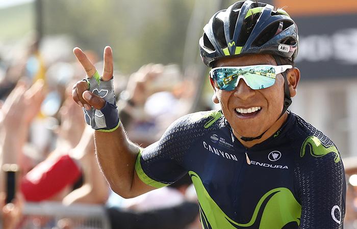 Nairo Quintana: Así se vivió la victoria en la etapa 9
