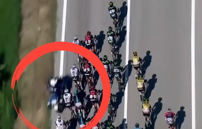 Giro de Italia: Team Sky se despide del Giro por este insólito accidente