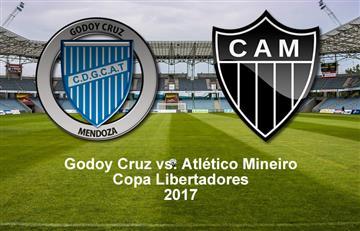 Godoy Cruz quiere sorprender al Atlético Mineiro