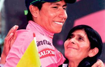 Nairo Quintana: El entrañable mensaje de doña Eloísa por su victoria