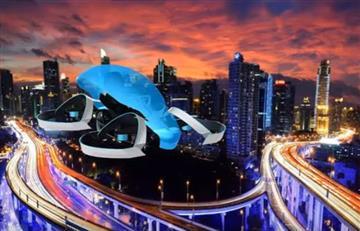 Toyota: Auto volador encendería la llama olímpica 2020