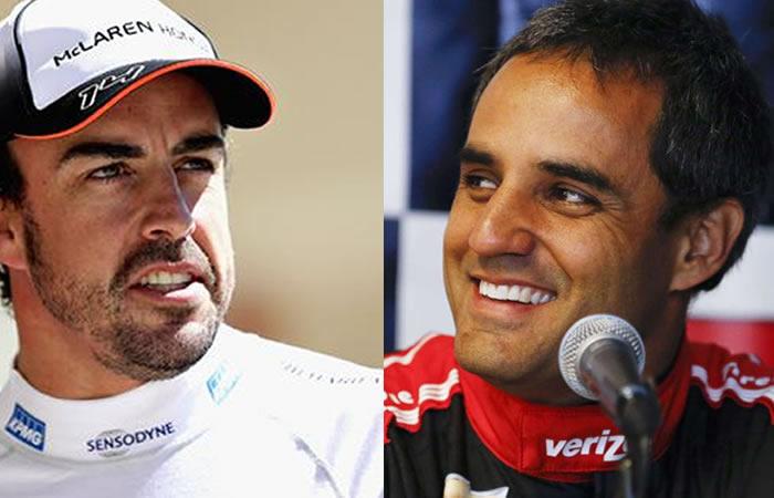 Alonso ya practica en Indianápolis para competir contra Montoya