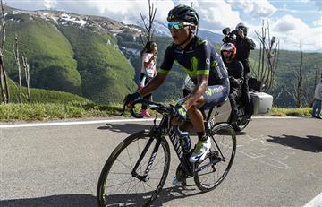 Giro de Italia: Nairo Quintana cede minutos con Tom Domoulin