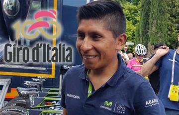 Giro de Italia: Nairo y los colombianos van así tras etapa 10