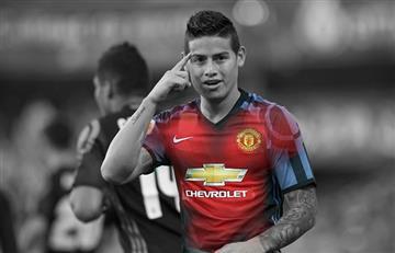 James Rodríguez: Así formaría el Manchester United con él