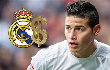 James Rodríguez: Esta es la millonaria cifra que recibiría el Madrid por él