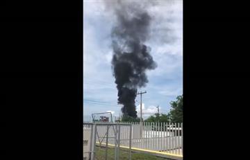 Cartagena: Grave incendio en zona industrial